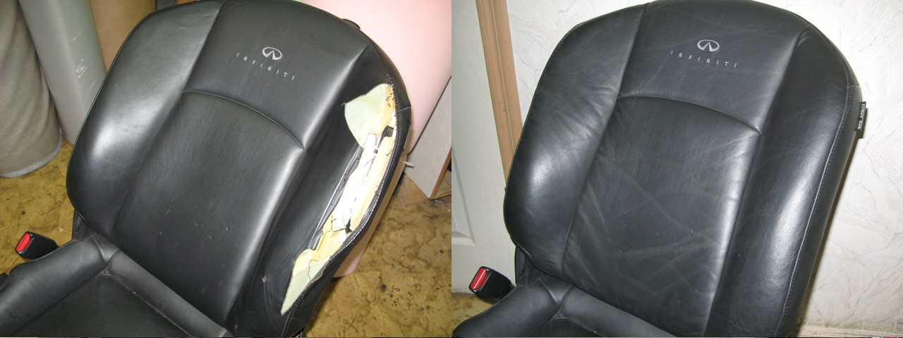 Замена обивки сидений своими руками