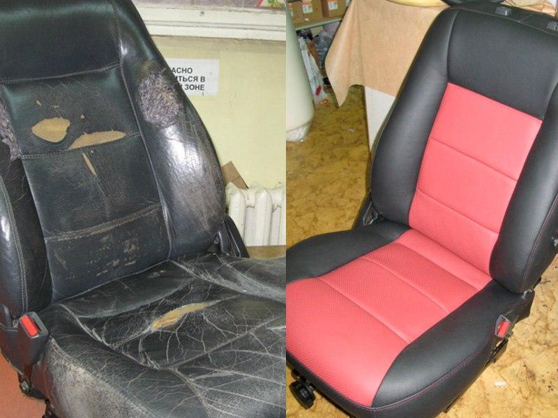Как перетянуть сиденье автомобиля своими руками